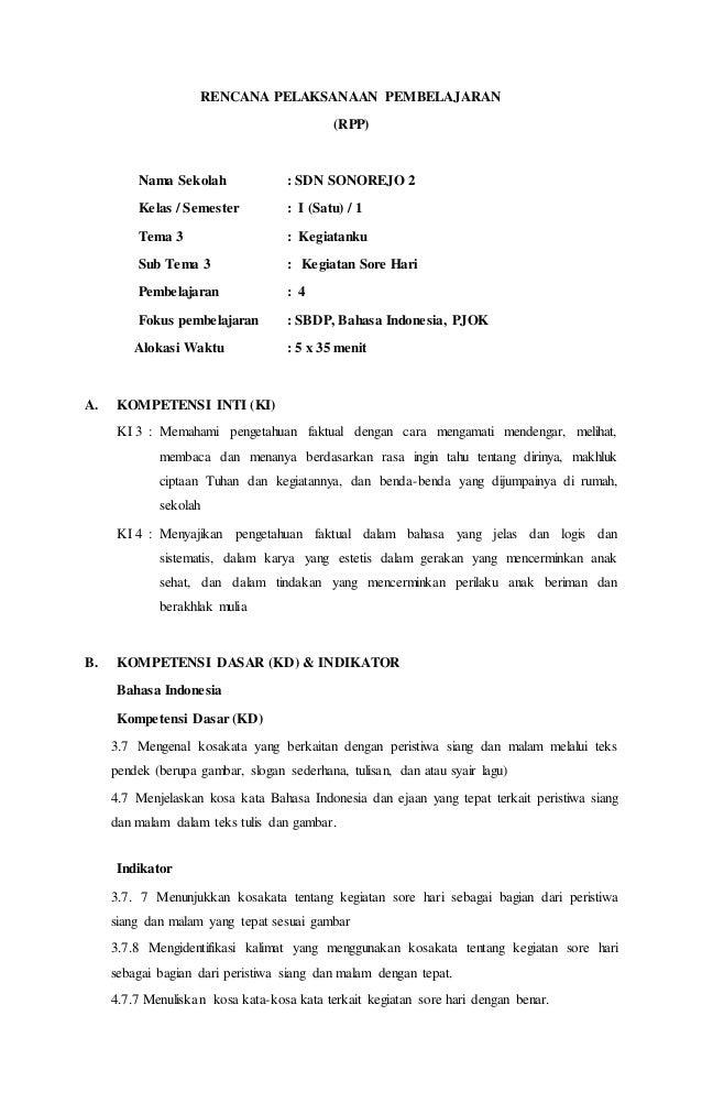 Rpp Tema 3 St 3 Pb 4