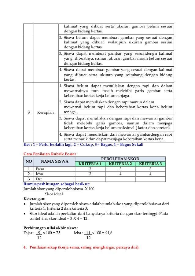 Rpp Tematik Kelas Iv