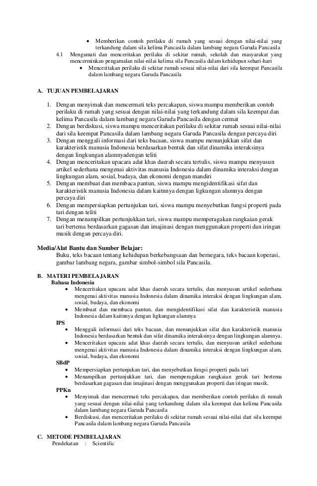Rpp Kelas V Smt 1 Tema 5 Subtema 1 Pertemuan 1