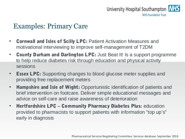 GP practice pharmacists • London AT Medics: – 8 care processes achieved on 86% of patients – Triple target reached by 47% ...