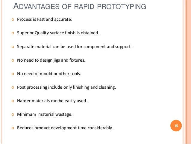 advantages disadvantages of rapid prototyping 3d printing technologies continue to evolve rapidly, but not all are suited for rapid prototyping here are the top 7 methods, their strengths and weaknesses, and how they can help you to bring products to market faster.
