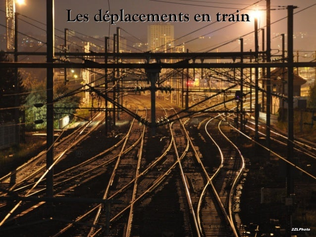 Les déplacements en train  2ZLPhoto