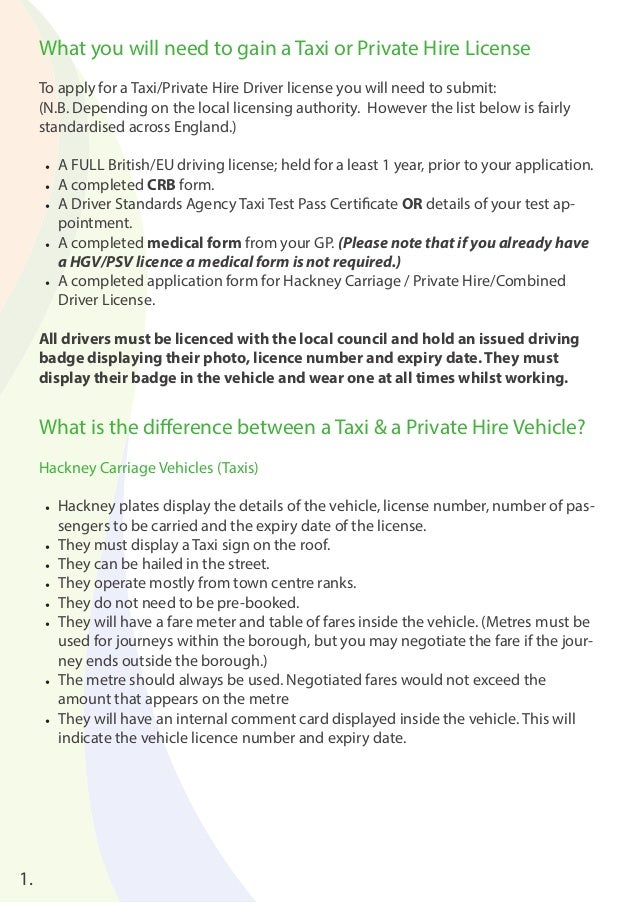 Hire Car Licence Victoria