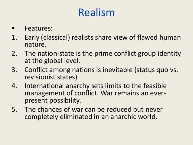 Realist Human Nature Ir