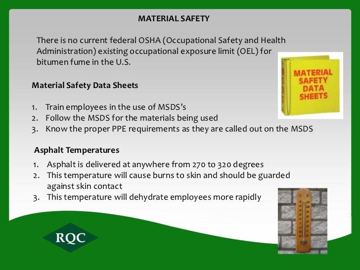 Rq Asphalt Safety