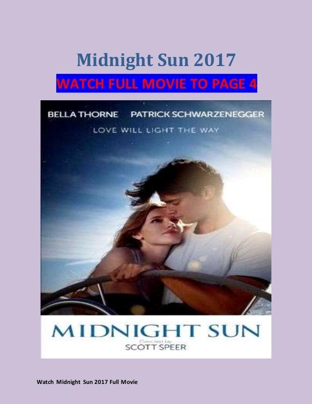 Watch Midnight Sun 2017 Full Movie Hd Hindi