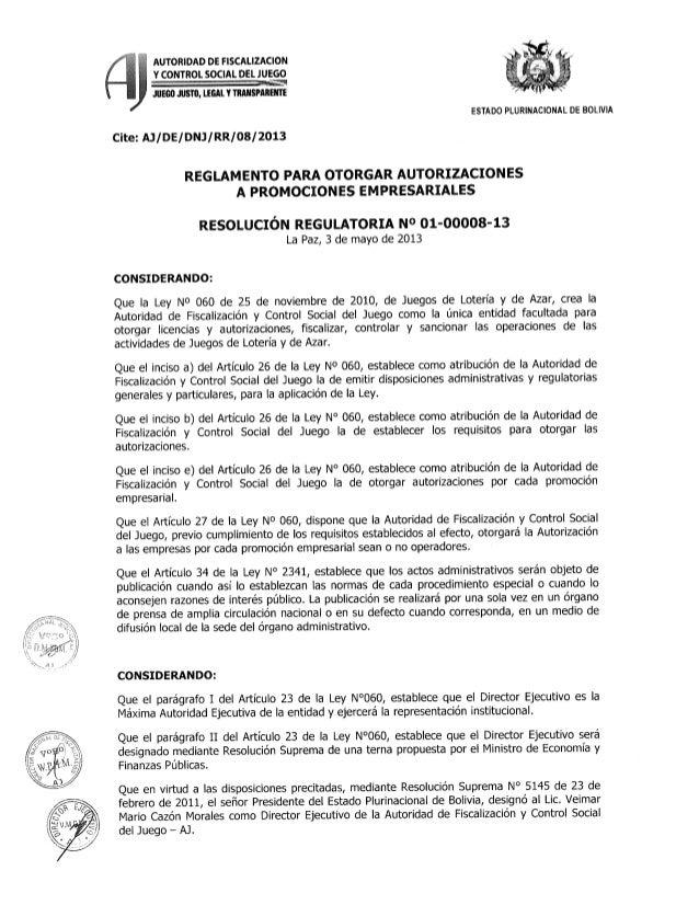 Reglamento de promociones empresariales de la AJ