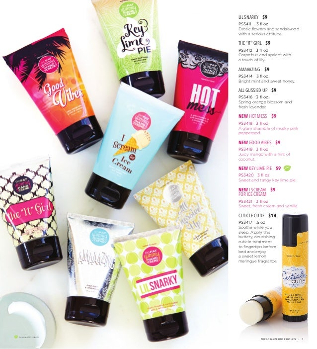 Perfectly Posh Spring Summer Pampering Catalog 2016