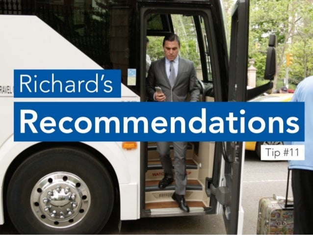 Factor in Passenger Load Time When Planning Event Transportation | Richard's Recommendations #11