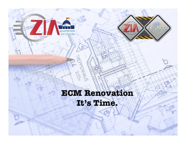 ECM Renovation It's Time.