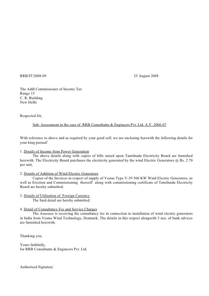 Rrb income tax letters authorised signatory 9 spiritdancerdesigns Images