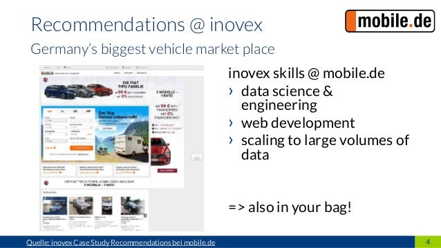 6828b53f854f60 ... learning Random  4. 4Quelle  inovex Case Study Recommendations bei  mobile.de Recommendations   inovex Germany s biggest vehicle market ...