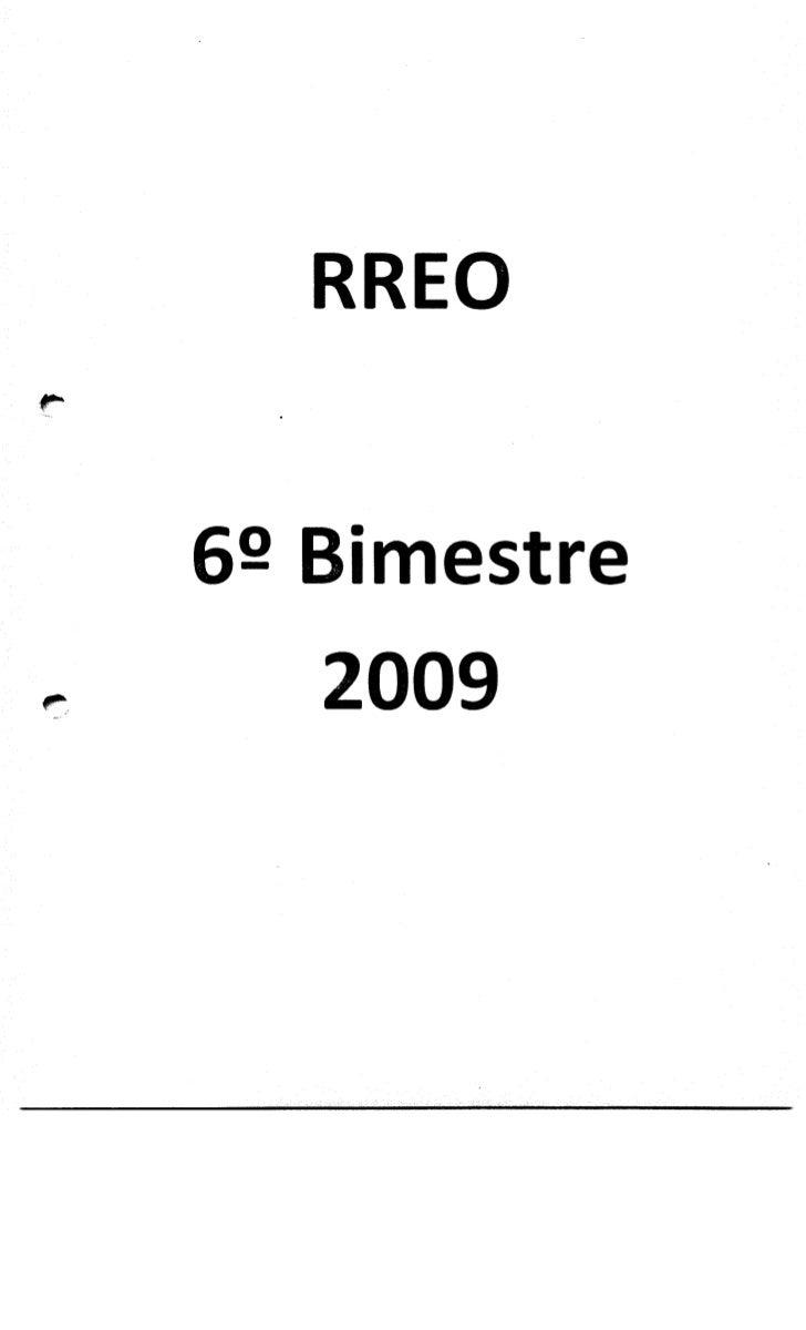 RREO 2009