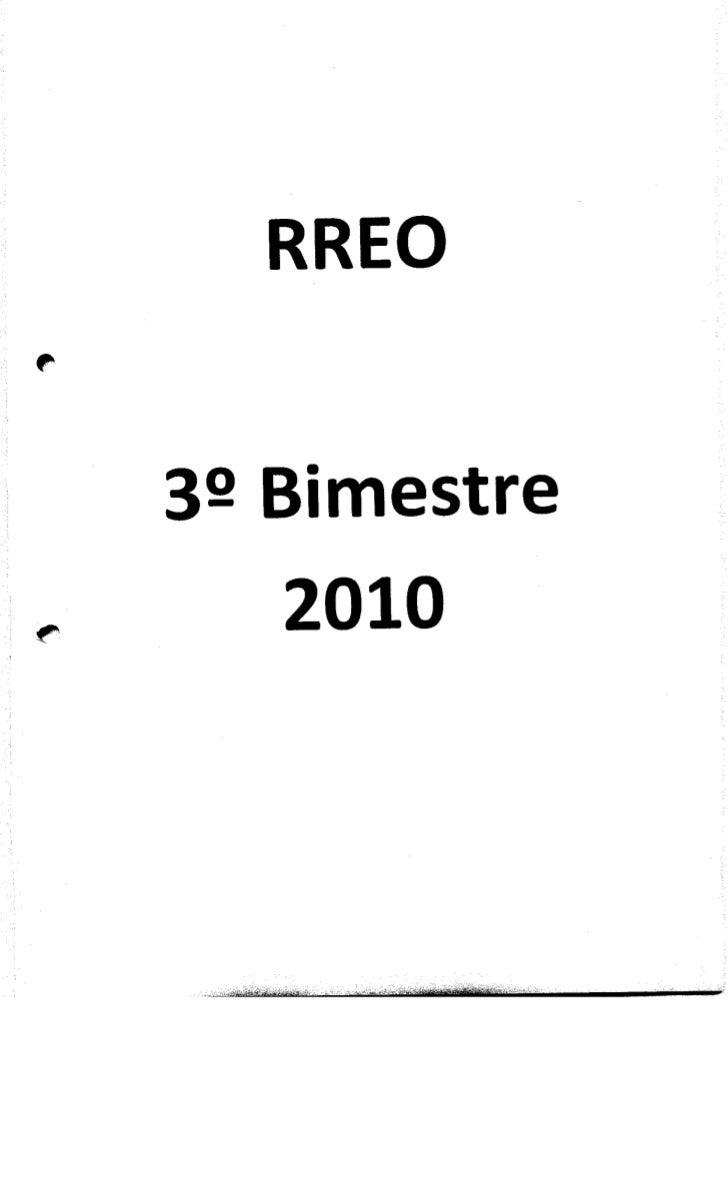 RREO 2010