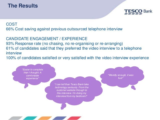tesco telephone interview tips How not to do a tesco interview find the cheapest broadband, tv and phone deals tips, tools and techniques.