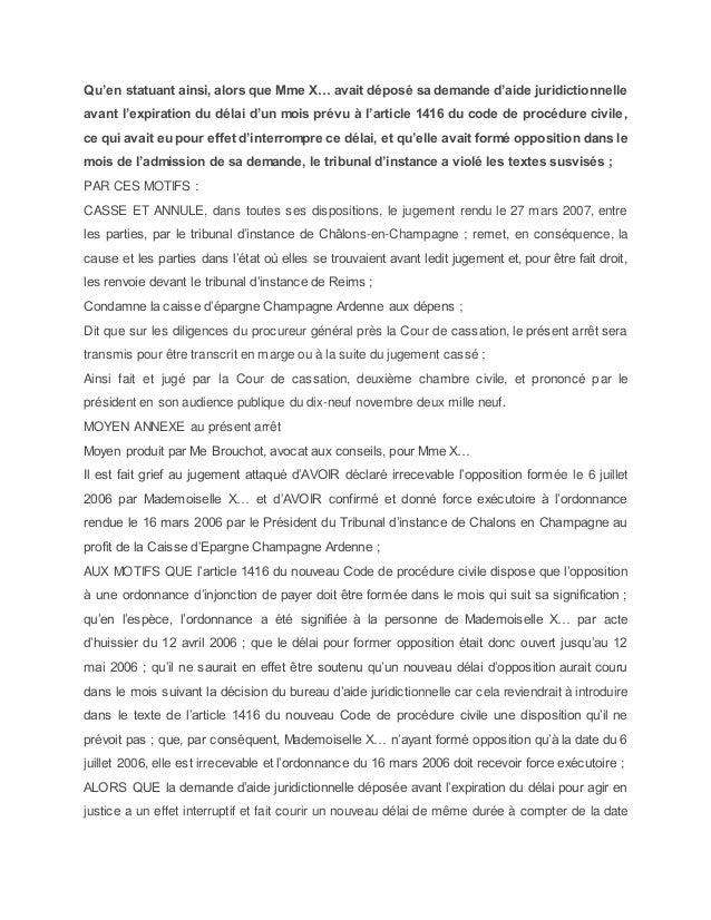 Guide de l injonction de payer - Bureau d aide juridictionnelle paris ...