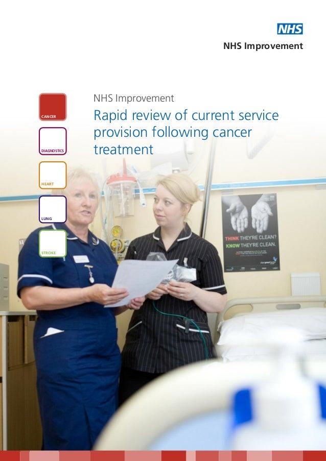 NHS                                   NHS Improvement              NHS ImprovementCANCER              Rapid review of curr...