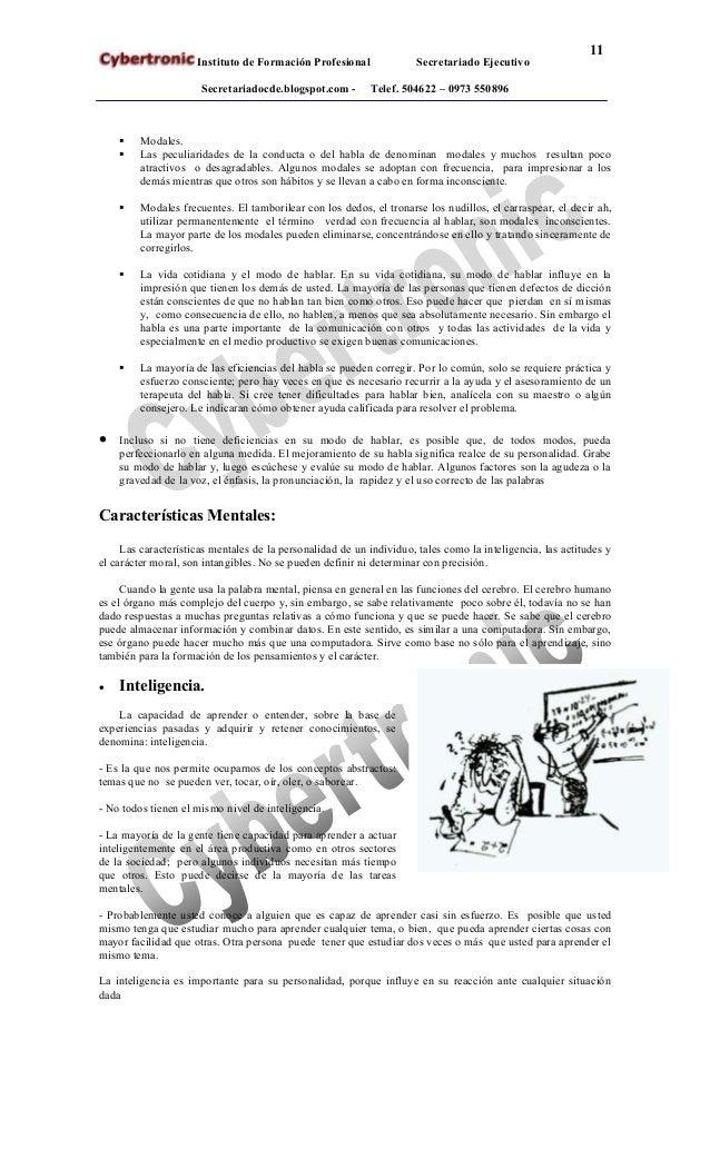 Secretariado Ejecutivo Modulo Relaciones Humanas