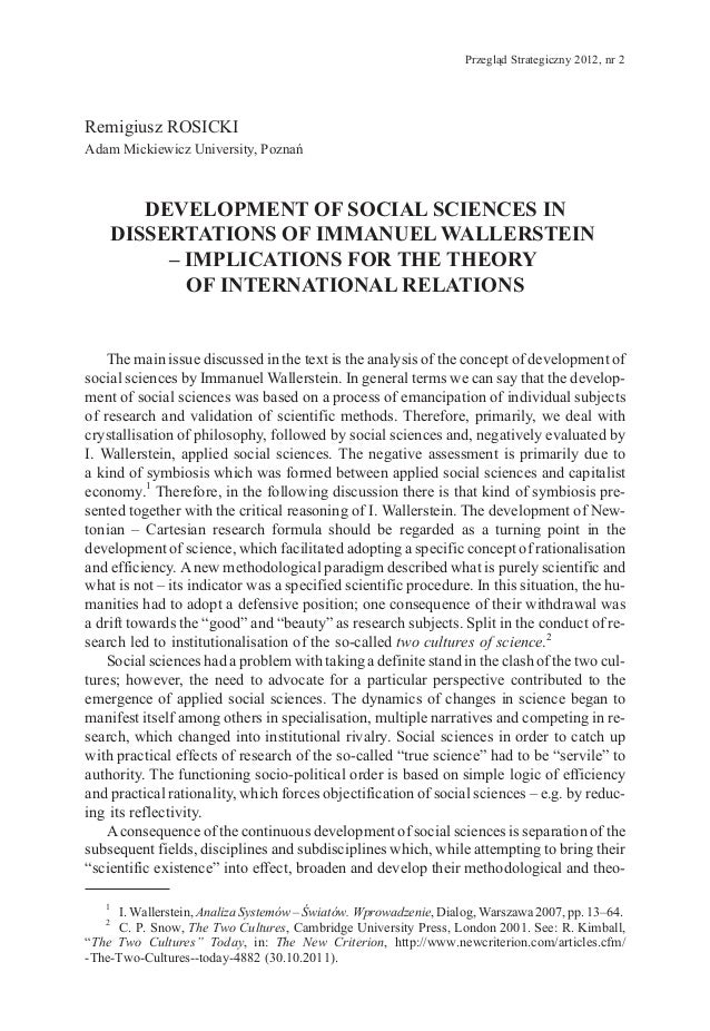 Phd dissertation in international relations