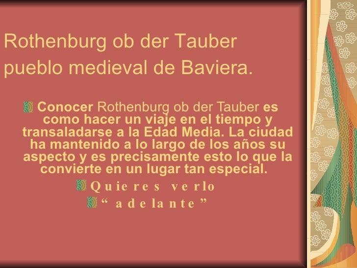 Rrothenburg Ob Der Tauber