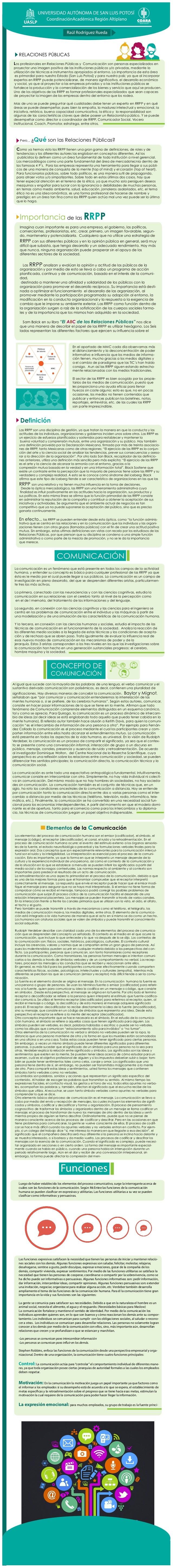 RELACIONES PÚBLICAS Los profesionales en Relaciones Públicas y Comunicación son personas especializadas en proyectar una i...
