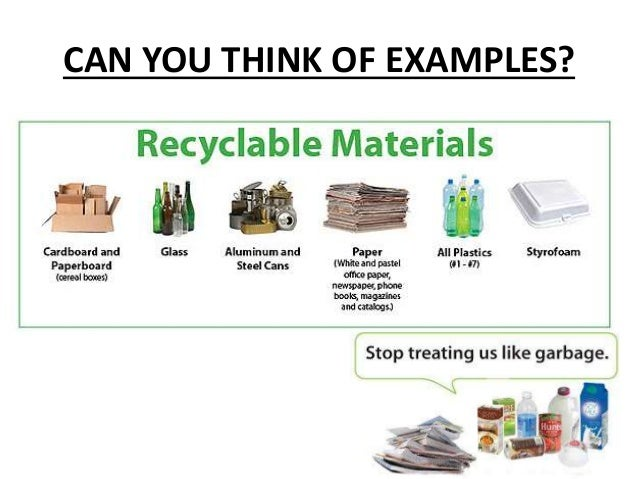 Reduce Reuse Recyle