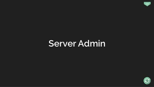 132 Server Admin