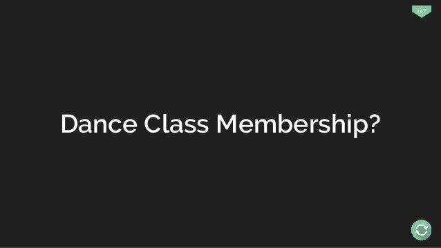 147 Dance Class Membership?