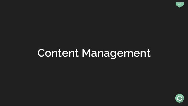 86 Content Management