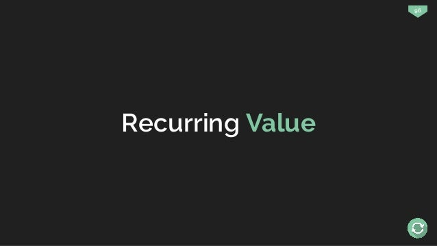 96 Recurring Value
