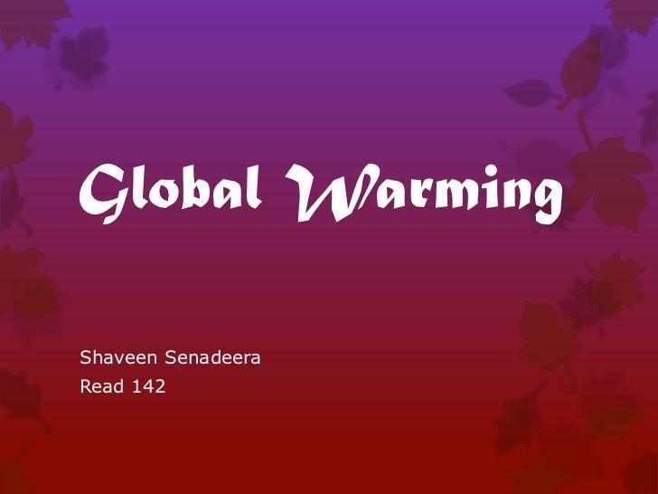 Global WarmingShaveen SenadeeraRead 142