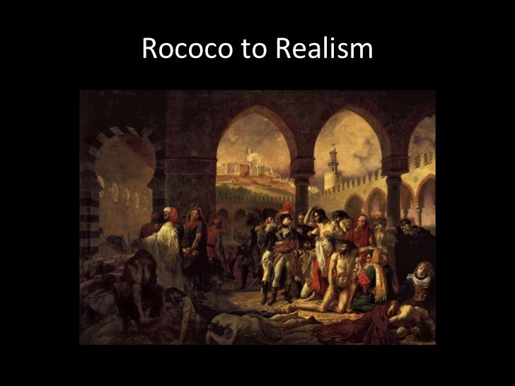 art history neoclassicism to realism Neoclassicism art refers to works of art that adopt the subjects and styles that were prominent in ancient art (kleiner, 2009, p 766) the style borrows from classicism, which originated in greece between the years 480 bce and 323 bce (stokstad & cothren, 2011, p 119) a primary characteristics of greek.