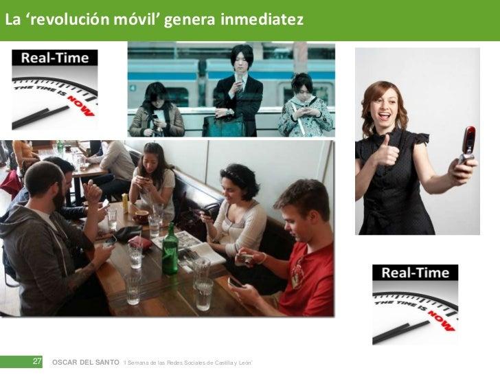 La 'revolución móvil' genera inmediatez<br />