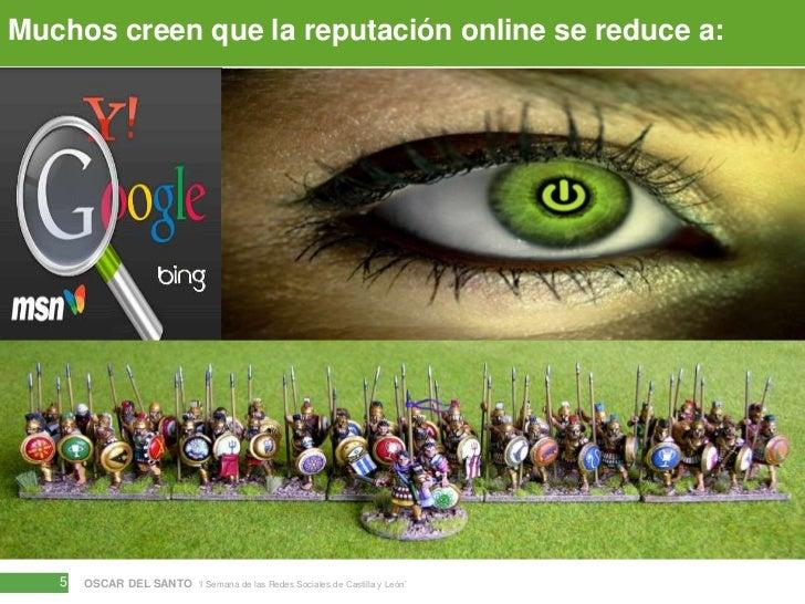 Muchos creen que la reputación online se reduce a:<br />