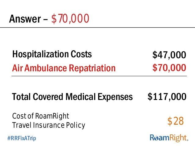 Medical Hospitalization And Repatriation Travel Insurance