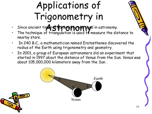 astronomy and trigonometry In astronomical calculations, the sine quadrant is an important tool apart from the use of astrolabe (asturlab) in the malay world, the use of the sine quadrant or.