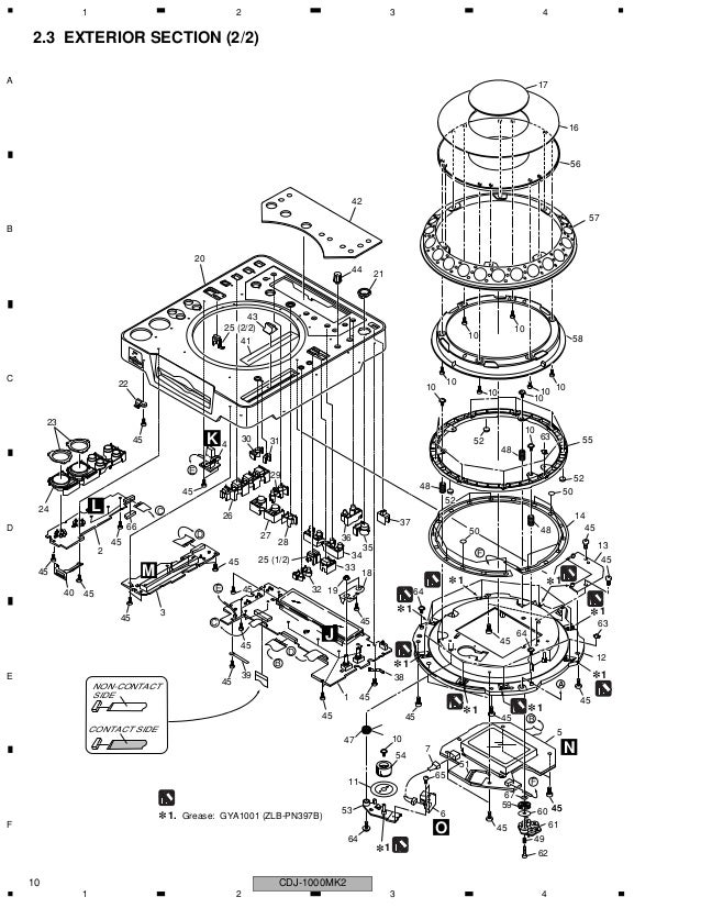 manual tecnico pionner cdj 1000