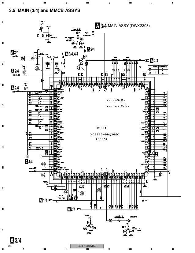 Manual tecnico Pionner cdj 1000-mk2 completo