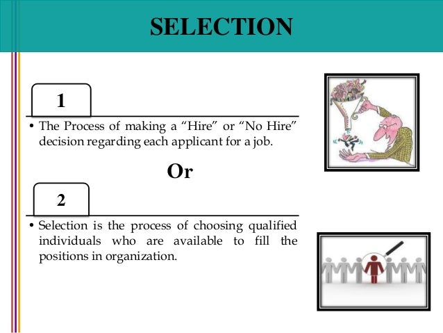 Employment Tests and Selection Procedures