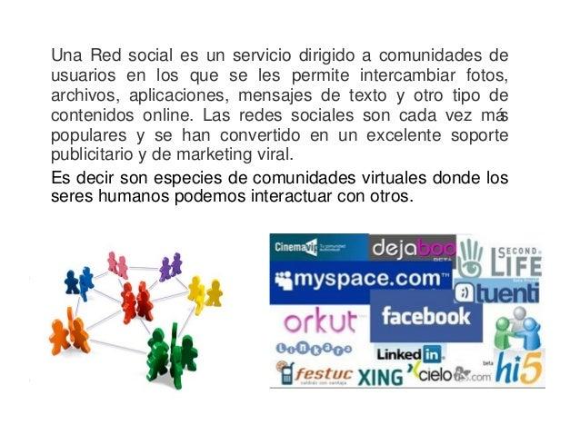 Redes Sociales - Introducción Slide 2