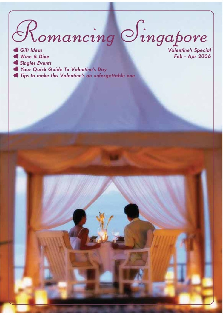 Romancing Singapore Gift Ideas                                           Valentine's Special Wine & Dine                  ...