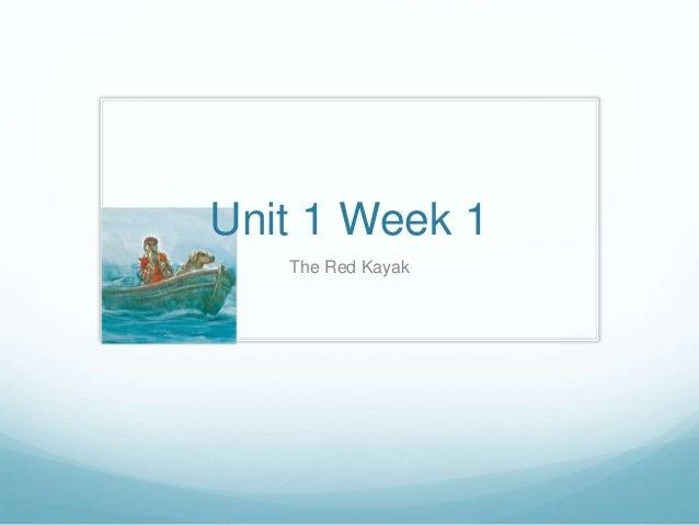 Reading Street - Unit 1 - Week 1 Powerpoint