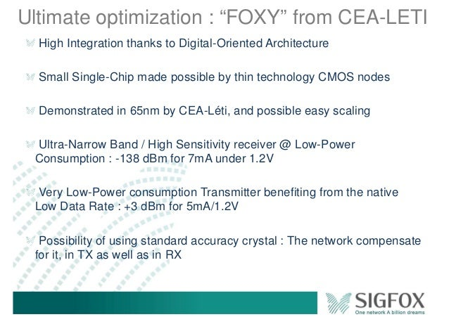 """Ultimate optimization : """"FOXY"""" from CEA-LETI High Integration thanks to Digital-Oriented Architecture Small Single-Chip ma..."""