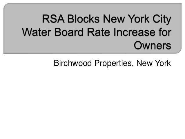 Birchwood Properties, New York