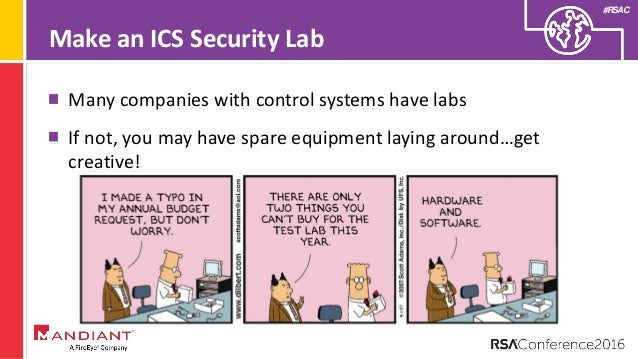 RSAC 2016: How to Get into ICS Security