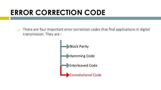 Burst error correcting convolutional codes pdf converter