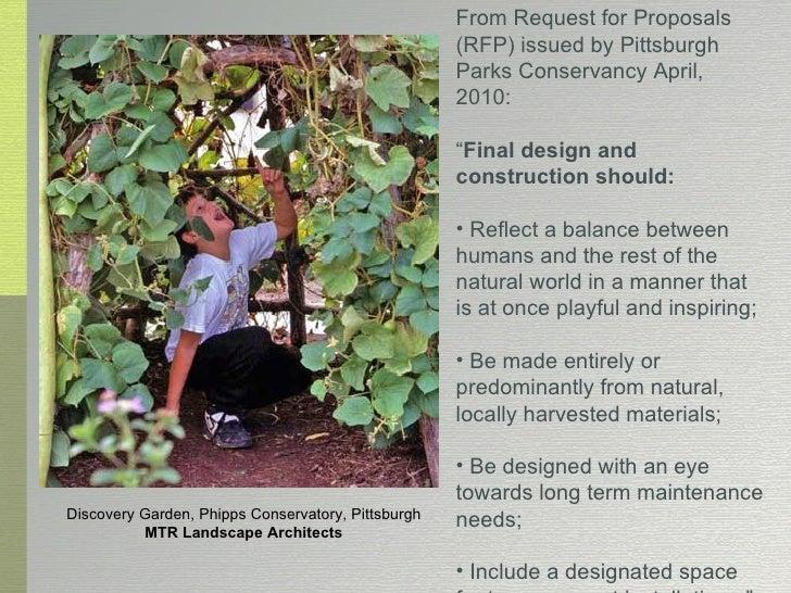 Parks conservancy treehouse presentation for Mtr landscape architects