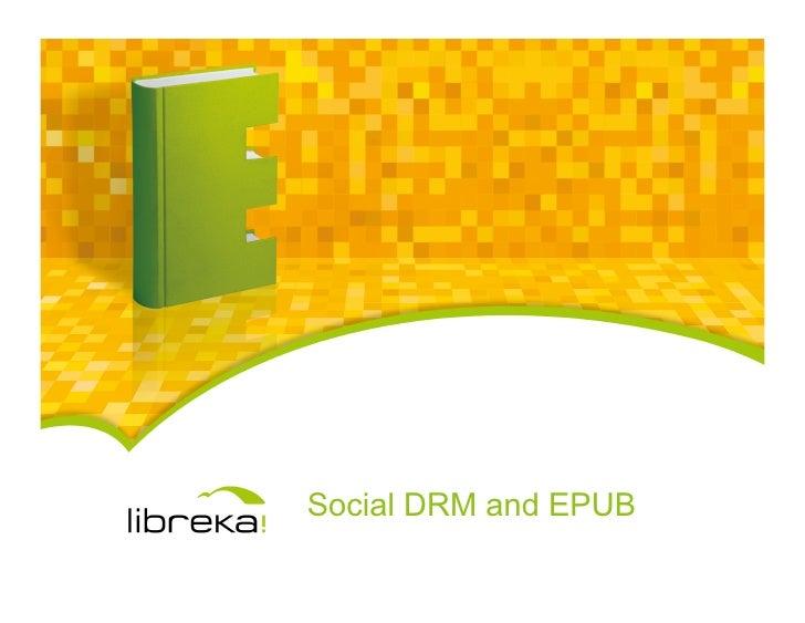 Social DRM and EPUB