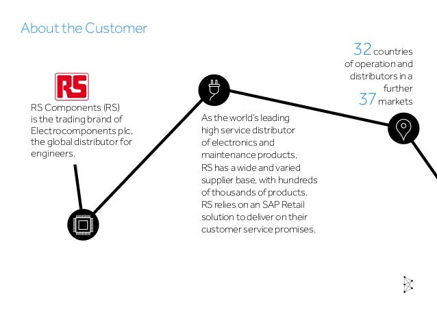 RS Components reduce downtime and enable aggressive SAP rollout strategy to support business growth Slide 2