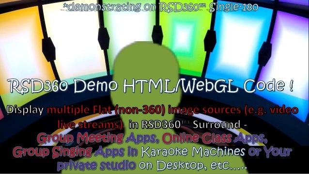 RSD360 Application Development - Group Meeting Apps Online
